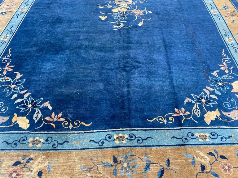 Nice Large Antique Chinese Rug For Sale 10