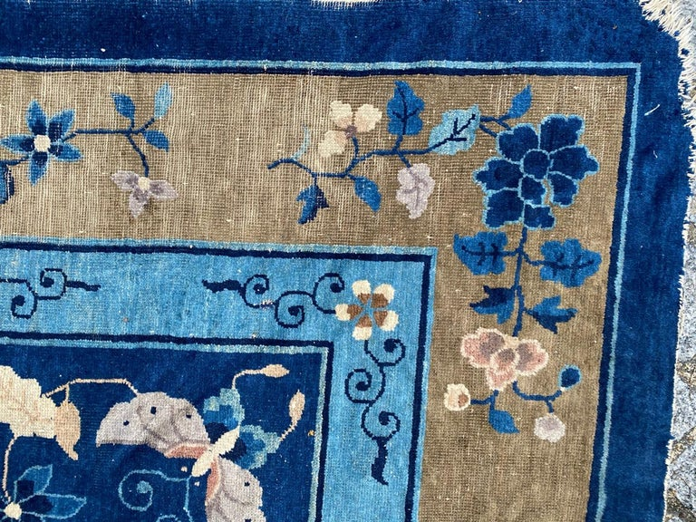 Nice Large Antique Chinese Rug For Sale 13