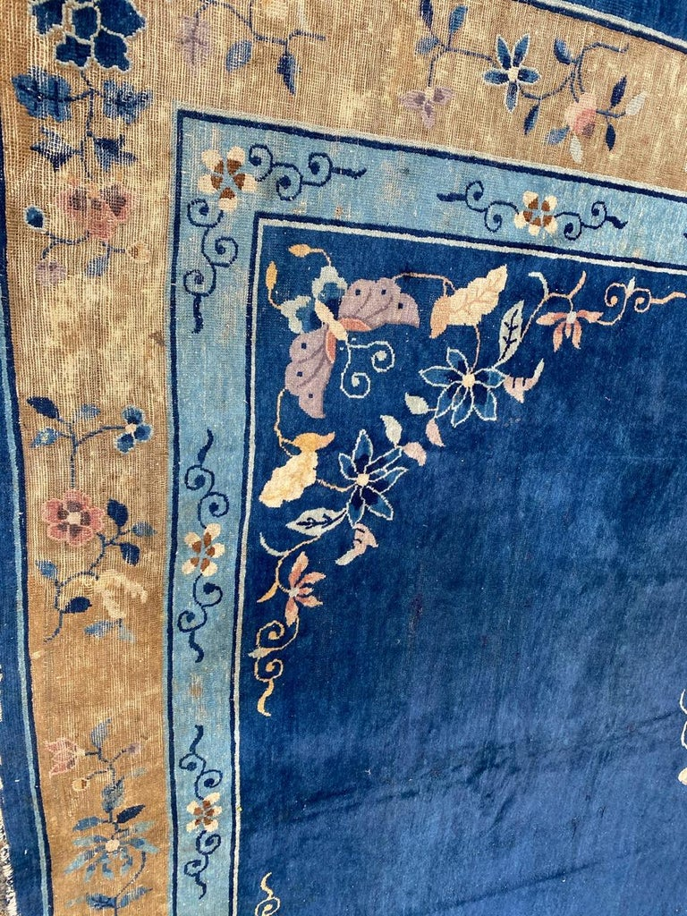 Nice Large Antique Chinese Rug For Sale 2