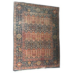 Nice Large Antique Donegal European Rug
