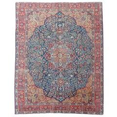 Nice Large Antique Tabriz Rug
