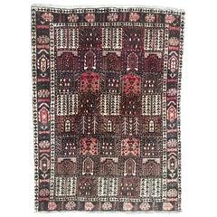 Nice Large Vintage Bakhtiar Rug