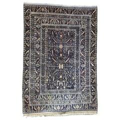 Nice Large Vintage Belutch Afghan Rug
