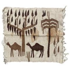 Nice Little Tunisian Tapestry Kilim