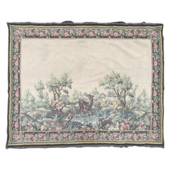 Nice Mid-20th Century French Aubusson Style Tapestry