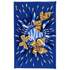 Nice Modern French Aubusson Tapestry by Robrt Four