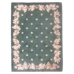 "Nice Modern French Design ""Serge Lesage"" Hand Tufted Rug"