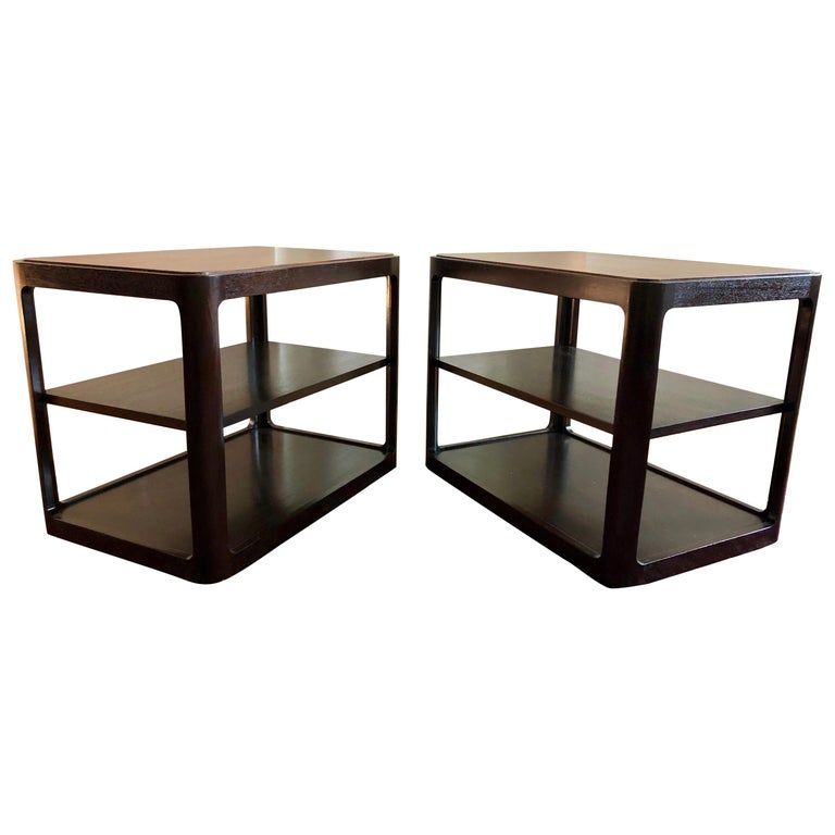 Nice Pair of Dunbar Side Tables by Edward Wormley For Sale