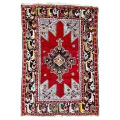 Nice Turkish Midcentury Anatolian Rug