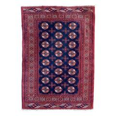 Nice Vintage Bokhara Afghan Rug