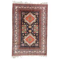Nice Vintage Caucasian Shirvan Rug