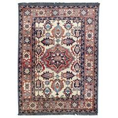 Nice Vintage Chobi Afghan Rug