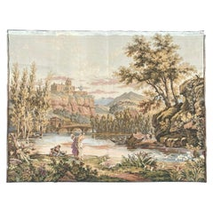 Nice Vintage French Aubusson Style Jaquar Tapestry
