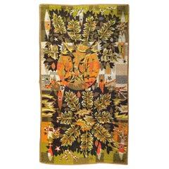 Nice Vintage Jaquar Tapestry with a Modern Jean Claude Bissery Design