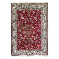 Nice Vintage Large Tabriz Rug