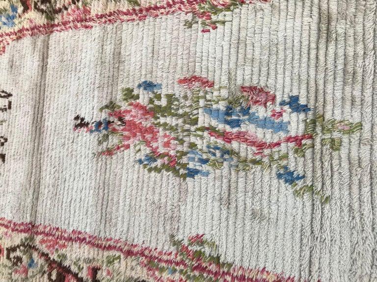 Nice Vintage Swedish Tapestry Design Runner For Sale 2