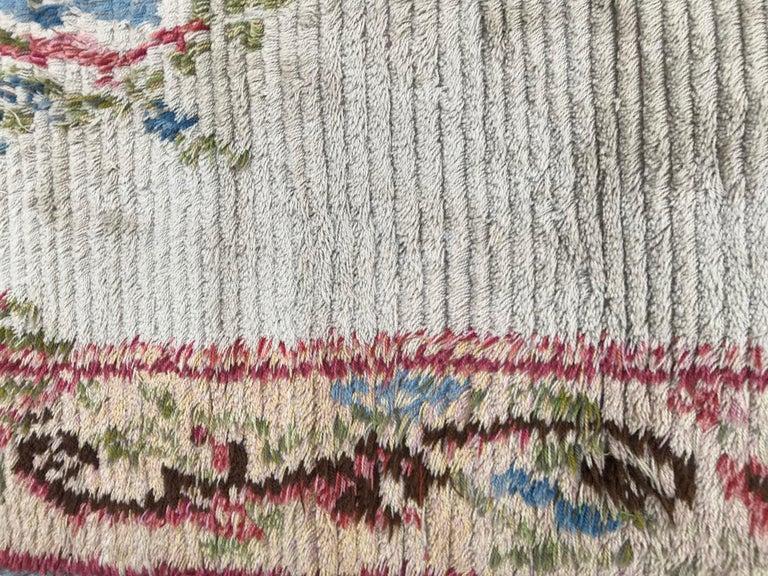 Nice Vintage Swedish Tapestry Design Runner For Sale 3