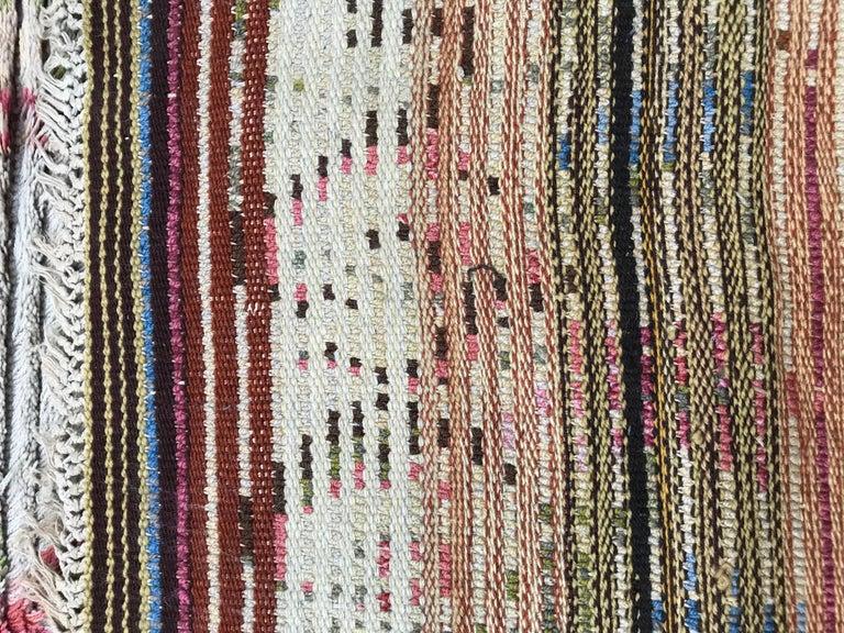 Nice Vintage Swedish Tapestry Design Runner For Sale 6