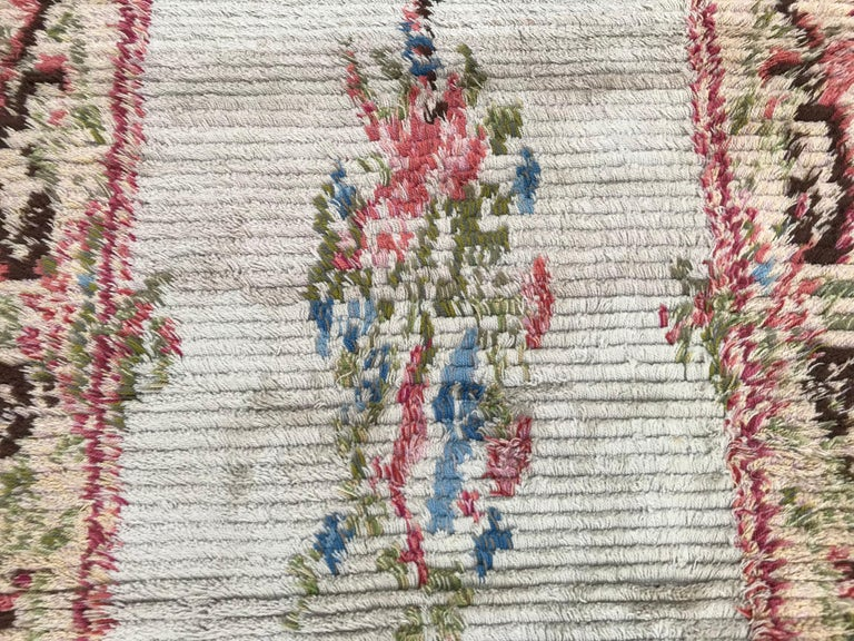 Nice Vintage Swedish Tapestry Design Runner In Good Condition For Sale In Saint Ouen, FR