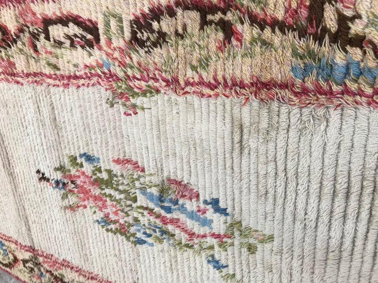 20th Century Nice Vintage Swedish Tapestry Design Runner For Sale