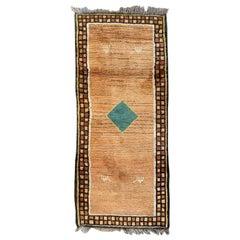 Nice Vintage Tribal Gabbeh Rug