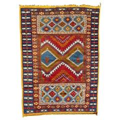 Nice Vintage Tribal Moroccan Rug