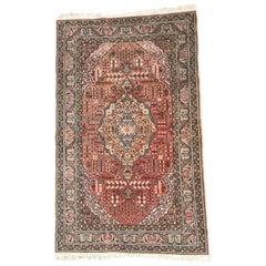 Nice Vintage Turkish Kayseri Rug
