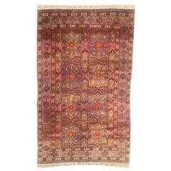 Nice Vintage Turkmen Rug