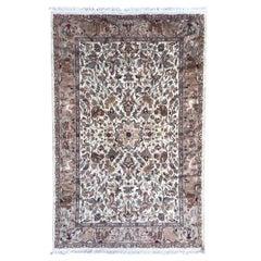 Nice Vintage Wool and Silk Pakistani Rug