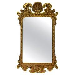Nicely Carved George III Giltwood Mirror