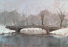 Bow Bridge, Winter study