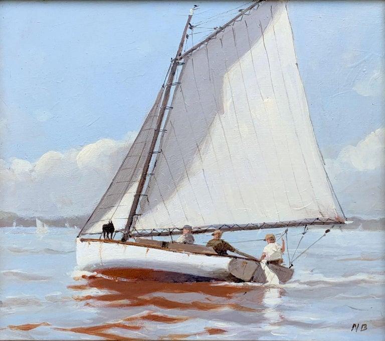 Nicholas Berger Landscape Painting - Scout