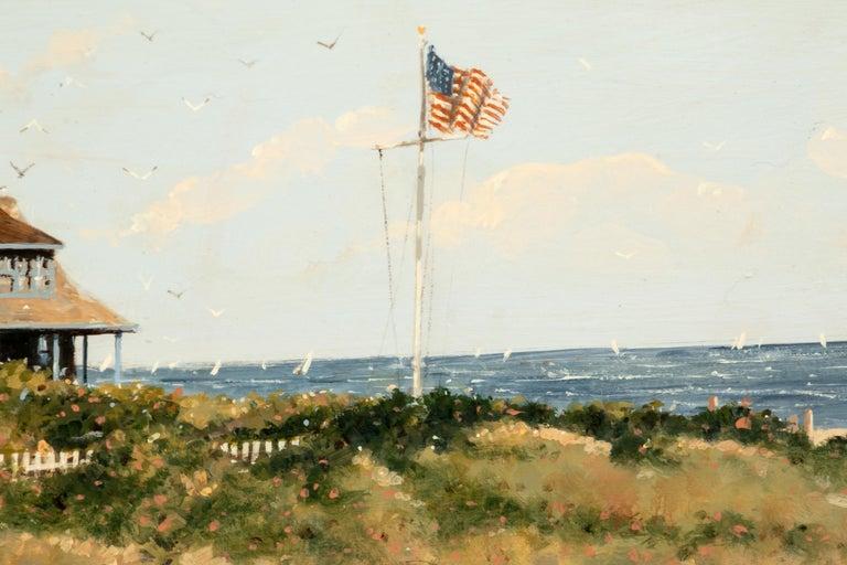 American Classical Nicholas Berger Fine Oil on Panel,
