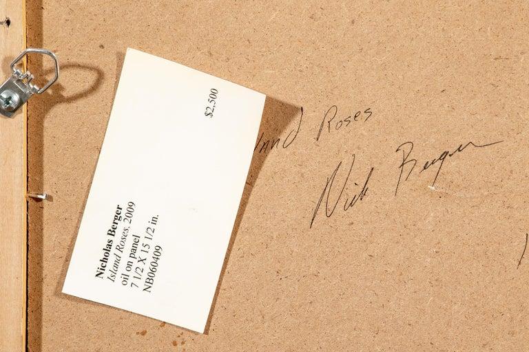 Nicholas Berger Fine Oil on Panel,