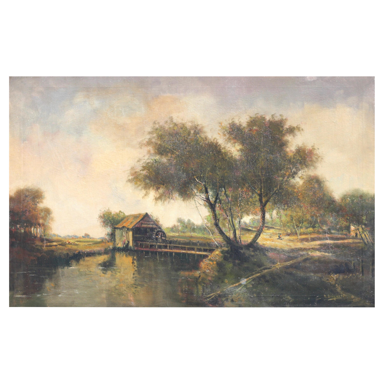 Nicholas Briganti Oil on Canvas