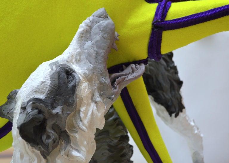Fetch - Sculpture by Nicholas Crombach