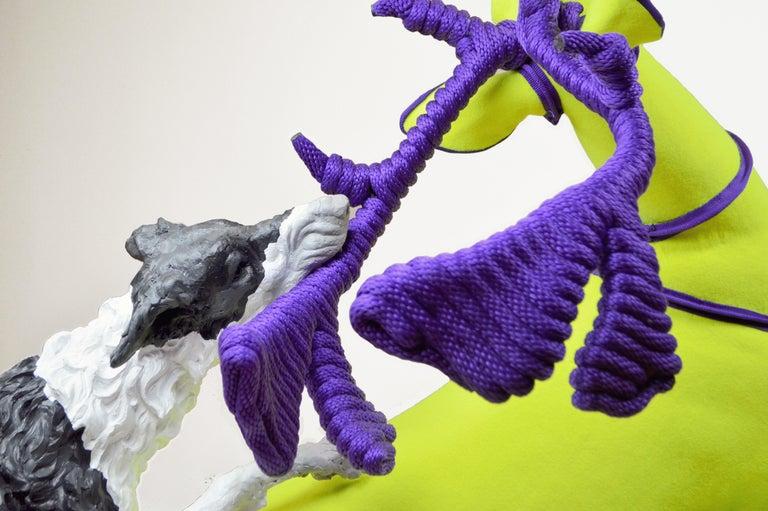 Fetch - Contemporary Sculpture by Nicholas Crombach