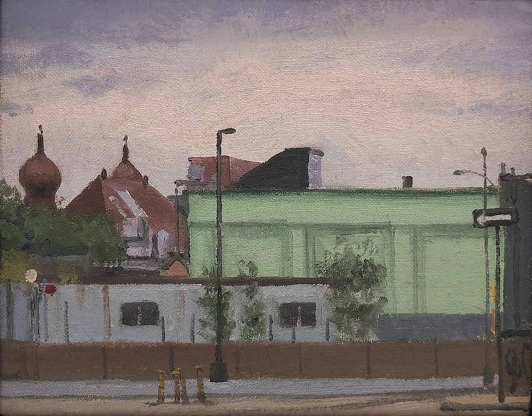Nicholas Evans-Cato Landscape Painting - Mint