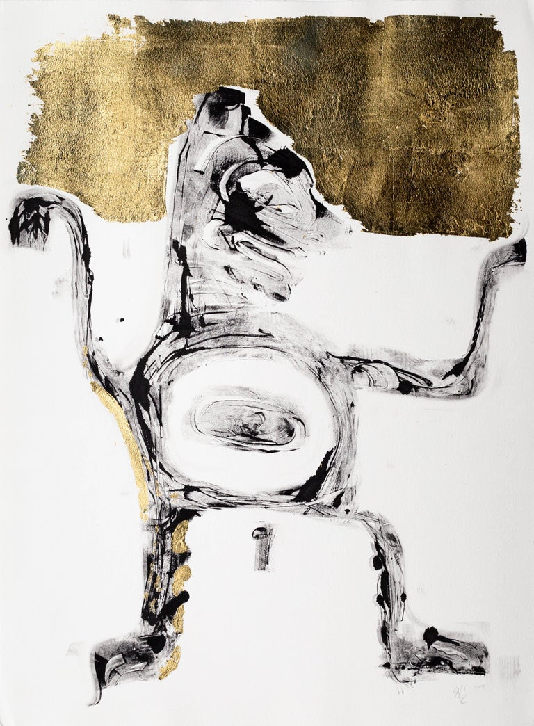 Nicholas Galanin Figurative Print - Ancestral Acumen