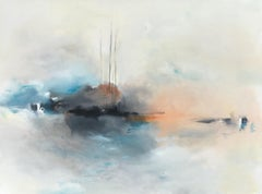 Let the River Decide, Abstract Oil Painting