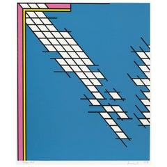 "Nicholas Krushenick ""Tail Gate"", 1978"