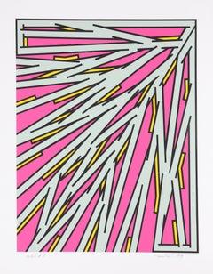 Small Pink, Serigraph by Nicholas Krushenick