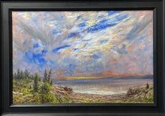 Flathead Lake Sunset from Quiet Beach, Montana