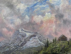 Heavens Peak, Late Afternoon, Glacier National Park, Montana