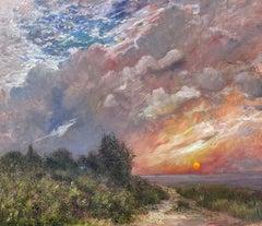 Oldfield Beach Sunset, Long Island, New York