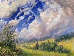 Summer Clouds, Montana Landscape