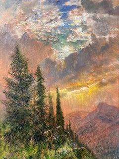 Sunrise from Highline Trail, Glacier National Park, Montana