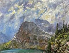 Unsettled Weather, Lake Grinnel, Glacier National Park, Montana