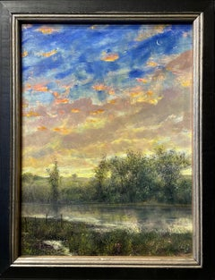 West Meadow Creek Sunset, Long Island, New York