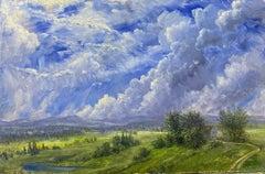 West Valley Landscape, Flathead Valley, Montana